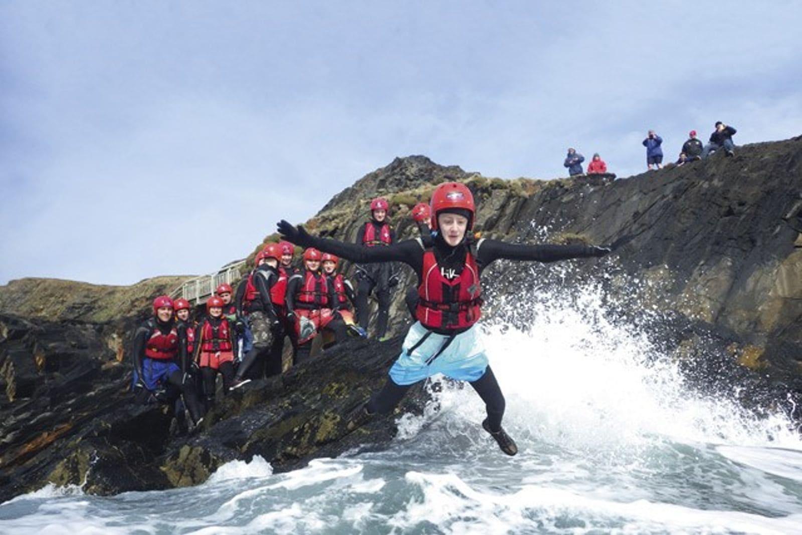 coasteering guide training