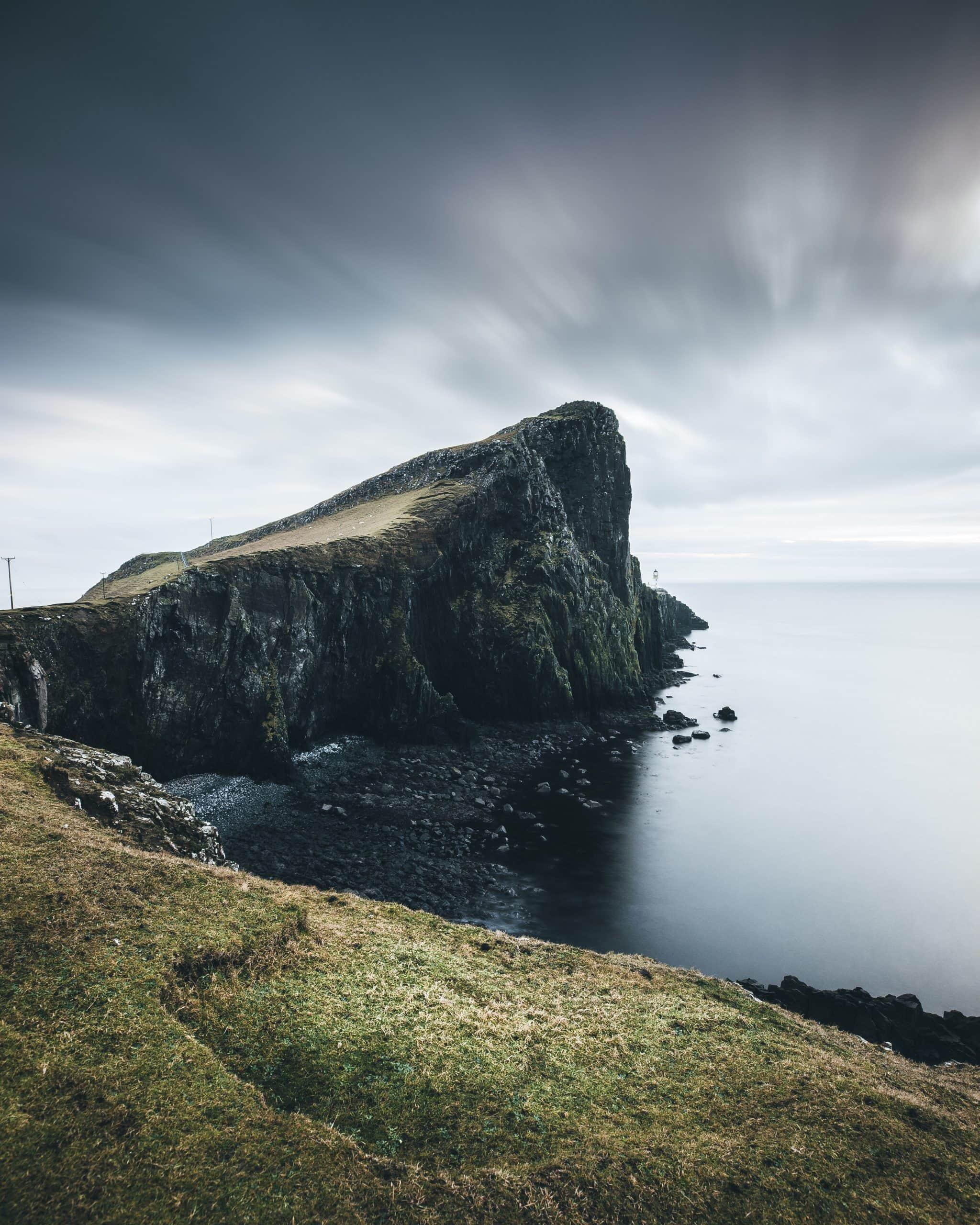 coasteering scotland coastline
